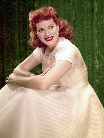 """How Green Was My Valley"""" - Maureen O'Hara 1920-2015 - Pictures ..."""