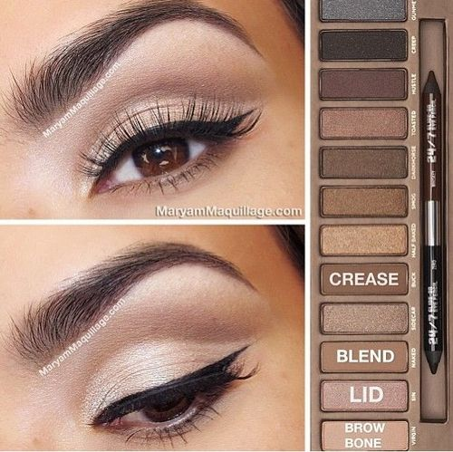 Make-Up Tips for Brown Eyes | herinterest.com