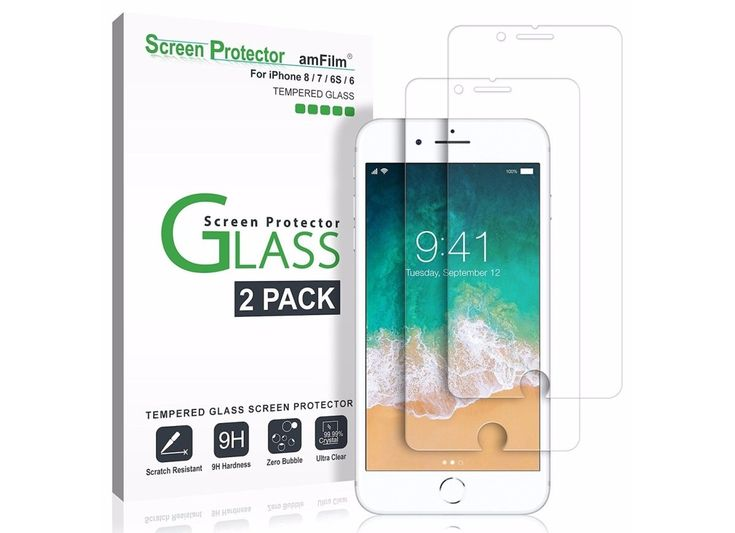 Your iPhone is an everyday necessity—it's also a major investment. To protect it from the inevitable crash to the ground, the amFilm Tempered Glass Screen Protector is a must-have.