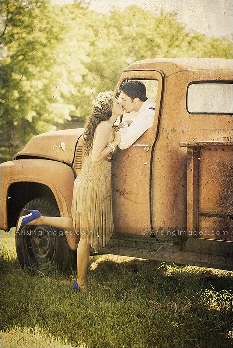 20s themed engagement photography in orion, michigan