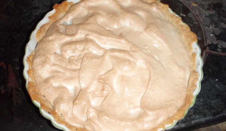 Blåbärspaj med marängtäcke - Catarina Algotsson - Recept