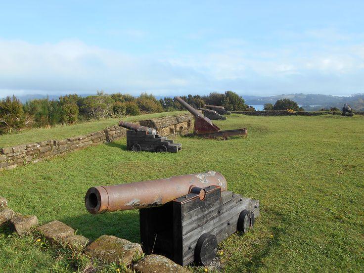 Cañones de Fuerte Agüi Ancud-Chiloé