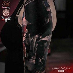 Shoulder Tattoo Man