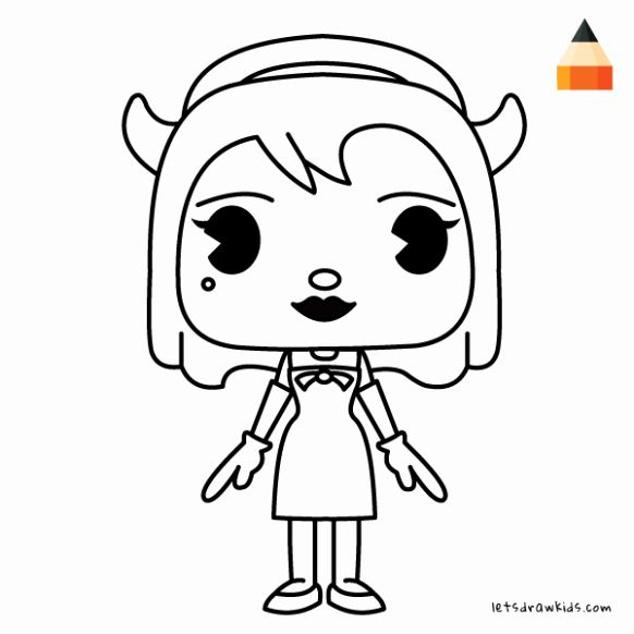 Bendy And The Ink Machine Coloring Page Beautiful Bendy Coloring Pages Printable At Getcolori Coloring Pages Angel Coloring Pages Free Printable Coloring Pages