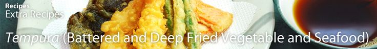 <i>Tempura</i> is arguably one of the most popular Japanese dishes in the US, along with Sushi. Any food can be deep fried and made into <i>Tempura</i>, but shrimp is one of the more popular ingredients. Enjoy <i>Tempura </i> with dipping sauce or just salt.