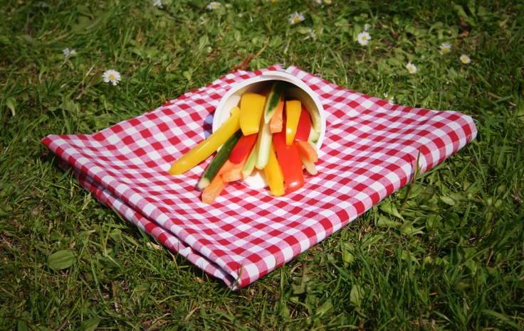 French Veggies! A great side dish for all sorts of meats and seafood. #picnic