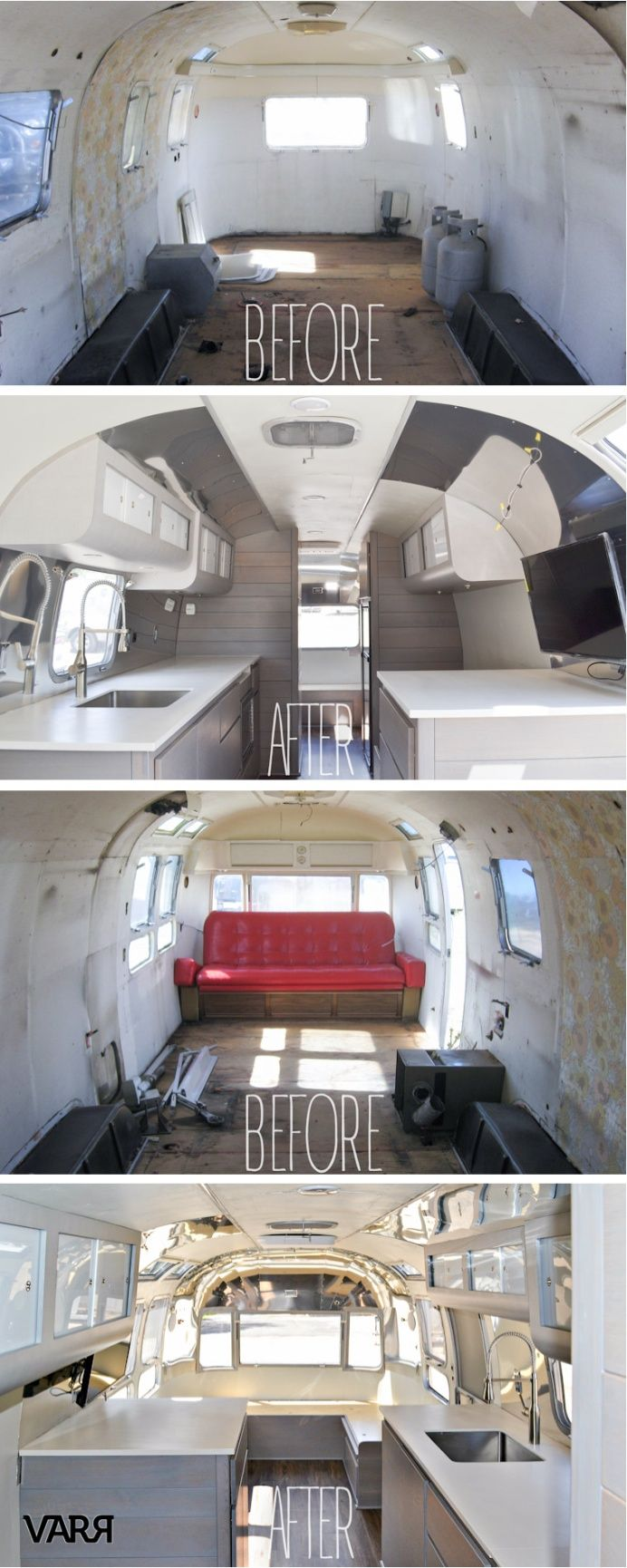 This 1975 Sovereign Airstream is on her way home to the Great State of Texas.