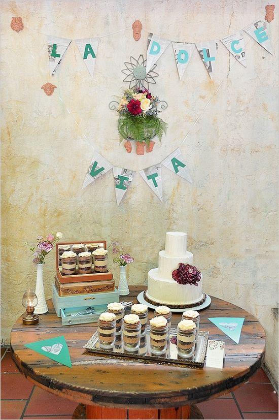 vintage cake table ideas www.MadamPaloozaEmporium.com www.facebook.com/MadamPalooza