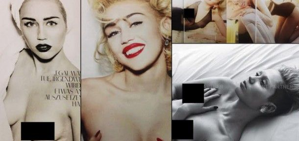 Miley Cyrus-t Marilyn Monroe-ként fotózták