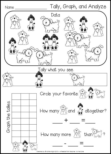 Here's a simple tally, graph and analyze activity.
