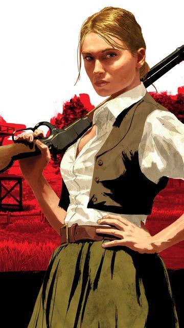 Bonnie Macfarlane. Red Dead Redemption.