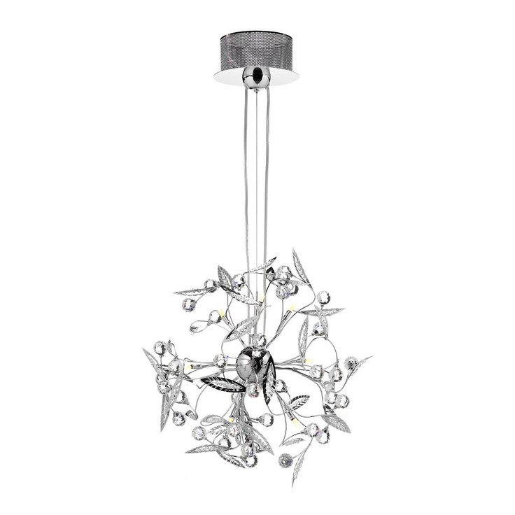 Am studio hamilton 18 light crystal pendant