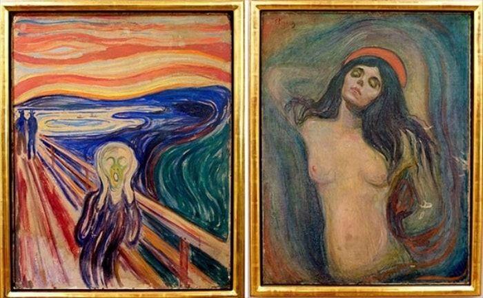 Картины *Крик* и *Мадонна* были похищены из музея в 2004 г. | Фото: etoday.ru