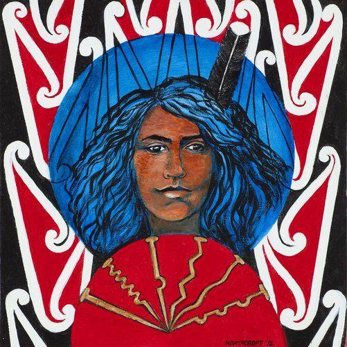 Bella—Rauru (2012) by June Northcroft Grant, Māori artist (KX121010)