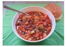 Chickpea and Chorizo Soup | spanish | Pinterest