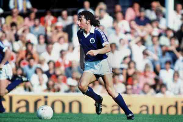 Mickey Thomas of Everton in 1981.