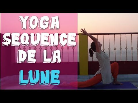 Yoga Doux - Sequence de la Lune - Fluidité et douceur avec Ariane - YouTube
