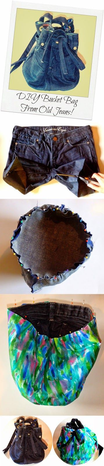 Zoom DIY: 13 Ideas to Recycle Old Jeans into Useful Things