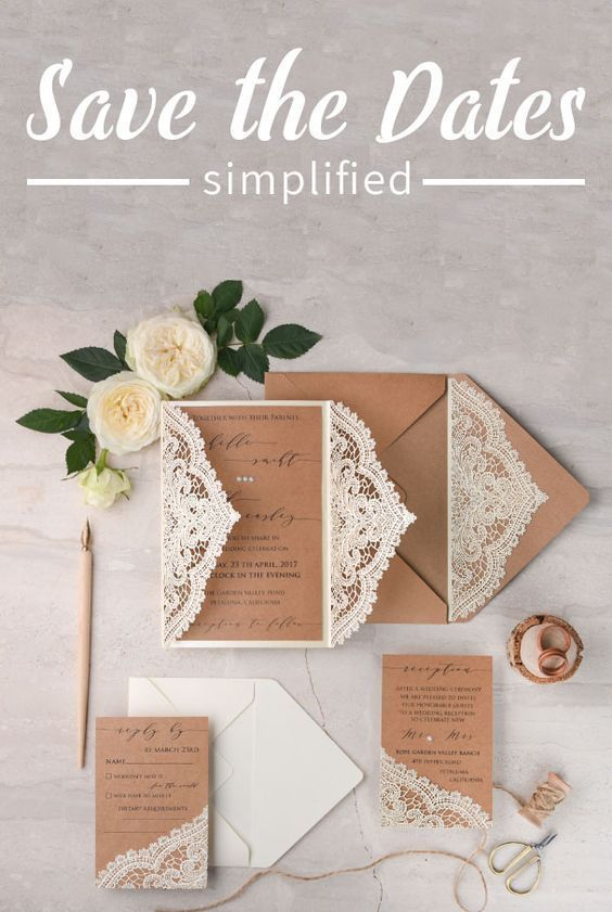 Saving the date doesn't have to be complicated! Check out these easy steps to simplify yours!