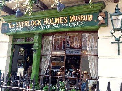 12 Spots literario en Londres  Sherlock Holmes museo