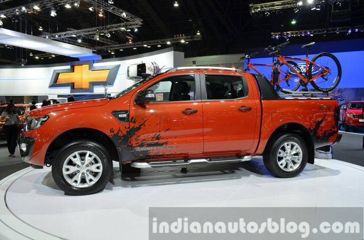 Ford Ranger WildTrak side at 2014 Thailand International Motor Expo