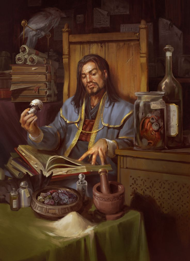 fantasy alchemist lab art images