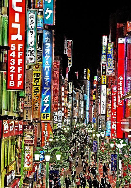Tokyo's Neon Japan, Shinjuku