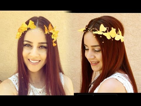 DIY Snapchat Butterfly Crown || Lucykiins, My Crafts and DIY Projects