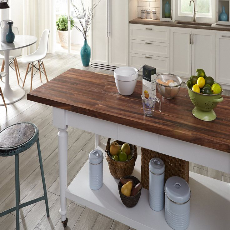 Wood Countertops, Butcher Block Stain And Wood