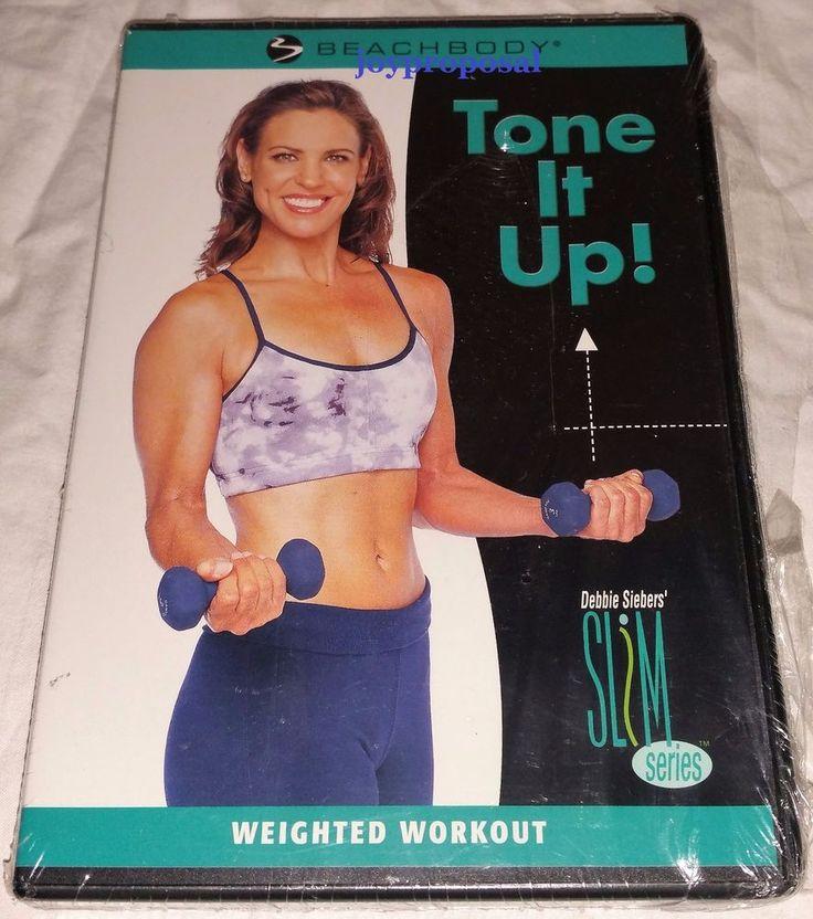 BeachBody Debbie Siebers Slim Series Tone It Up! Weighted Workout DVD New