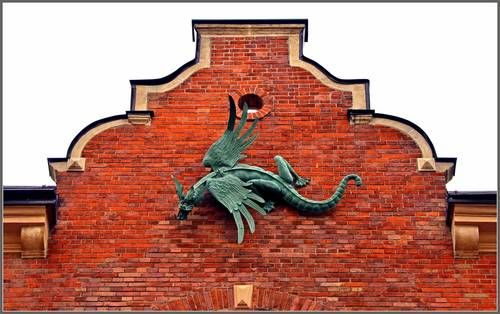 Apartment building at 18 Smoleńsk Street, Kraków, Under the Dragon (Pod Smokiem)