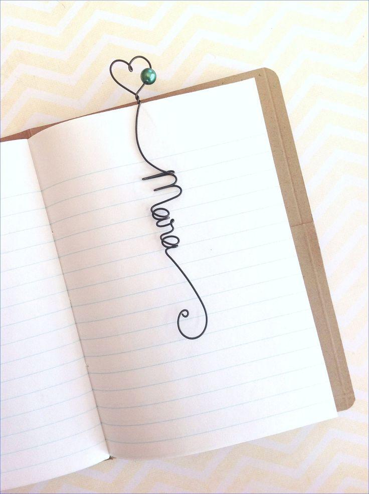 Faveur de mariage signet de câble personnalisé par kraze4paper