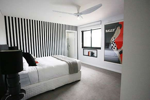 The Block Sky High: Room Reveal: Bec + Georges bedroom and ensuite #TheBlock #TheBlockShop