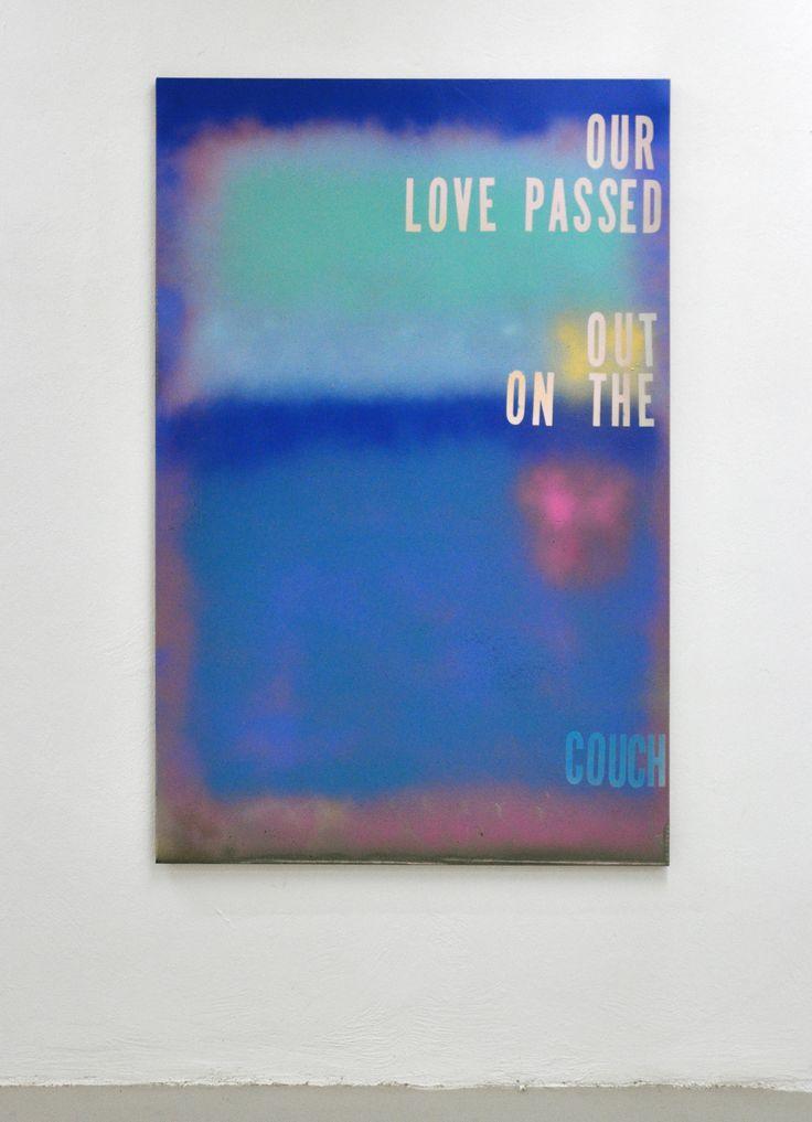 Michael Bevilacqua @the Flat-Massimo Carasi Milan, 152x101 cm, spray on canvas