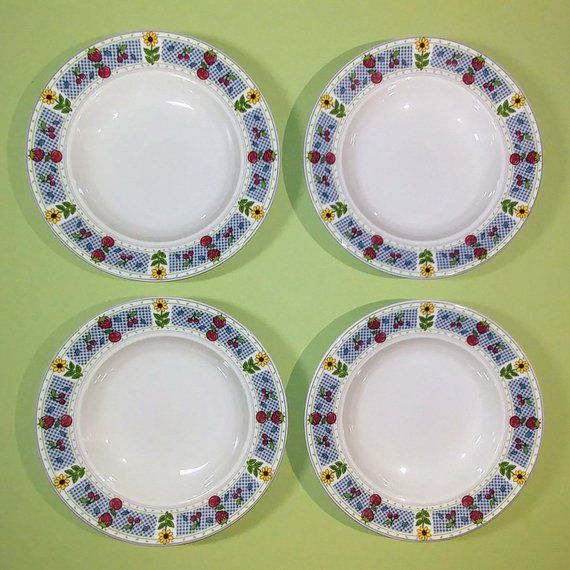 Set Of 4 9 1 2 Mikasa Studio Nova Soup Cereal Salad China Bowls