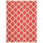 Safavieh Courtyard Red 8 ft. x 11 ft. Area Rug-CY6244-248-8 at The Home Depot
