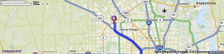 Driving Directions from 6700 Fannin St, Houston, Texas 77030 to 11302 Fallbrook Dr, Houston, Texas 77065 | MapQuest