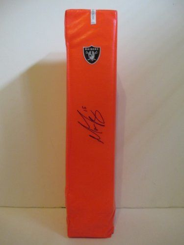 #Matt #Flynn #Autographed #NFL Full Size #Football #Touchdown #End #Zone #Pylon with Proof Photo of Signing! #OaklandRaiders #Oakland #Raiders #LSUTigers #LSU #Tigers #BayouBengals #LouisianaStateUniversity #NCAA #NFL #Signed #Free #Shipping Just $179.99  Click Here: http://www.southwestconnection-memorabilia.com/Matt-Flynn-Autographed-Signed-Oakland-Raiders/M/B00F3JZIJ6.htm