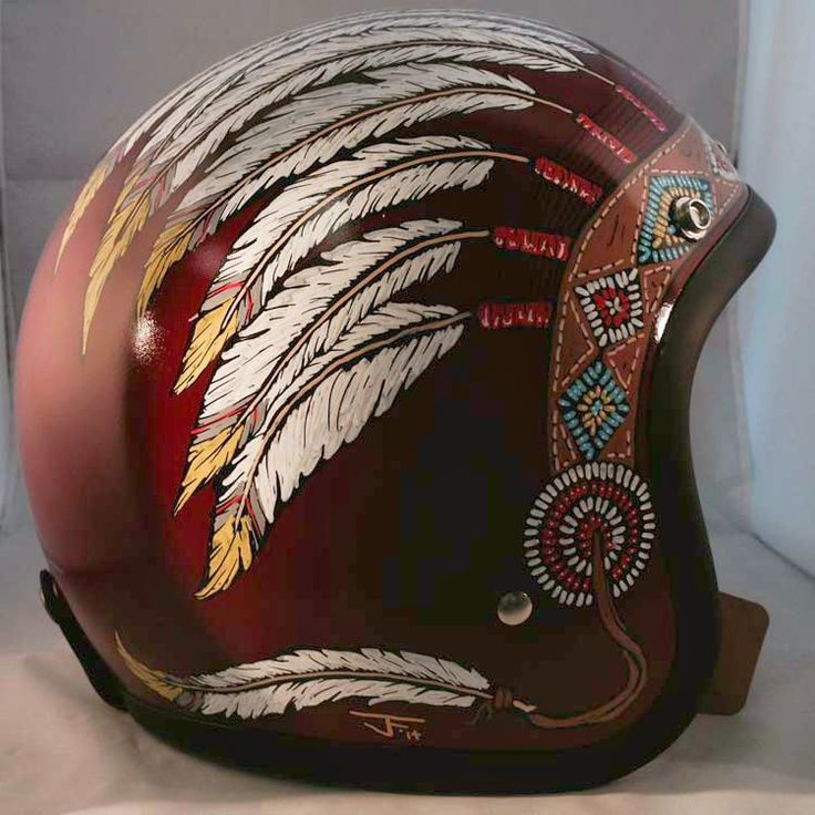 Flat Red Indian Headdress Motorcycle Pinterest Creativo