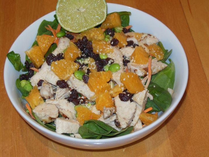 Orange Sesame Salad | Striking Salads | Pinterest