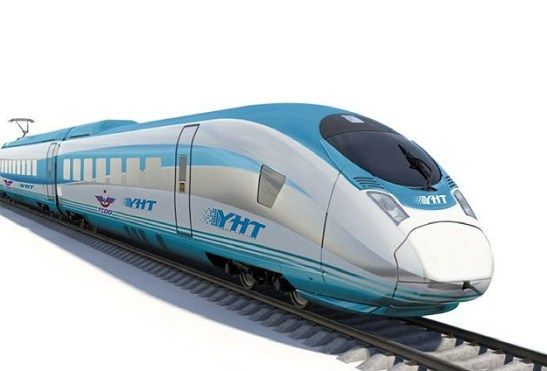 The New High Speed Train of Turkey. Illustration: TCDD