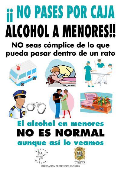 Los eslóganes sobre el alcoholismo