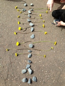 "I'm a teacher, get me OUTSIDE here!: 20 Something Maths Pictures... making pictures with '20' collected items ("",)"