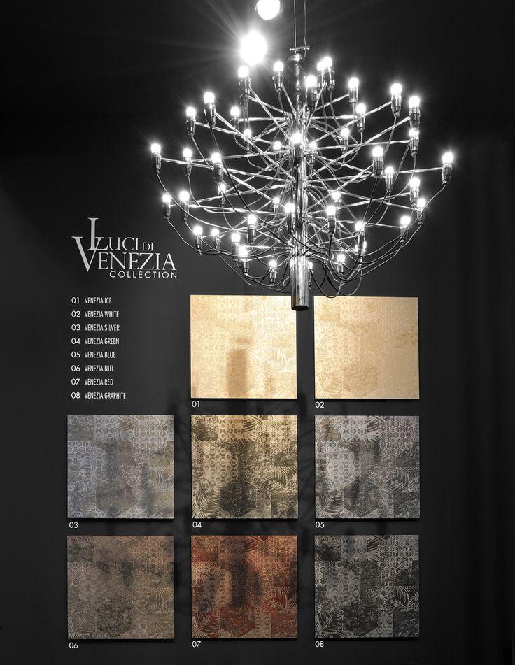 E' stato presentato il nuovo catalogo della collezione LUCI DI VENEZIA. Una storia fatta di luce e di# poesia della città lagunare, nuove suggestioni per nuovi ambienti d'#arte.  #interiordesign #gresporcellanato