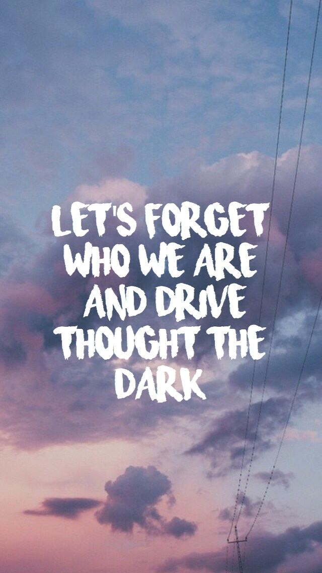 "jet black heart // 5sos... I think its ""into the dark"" but that's okay. its still really cool<3"