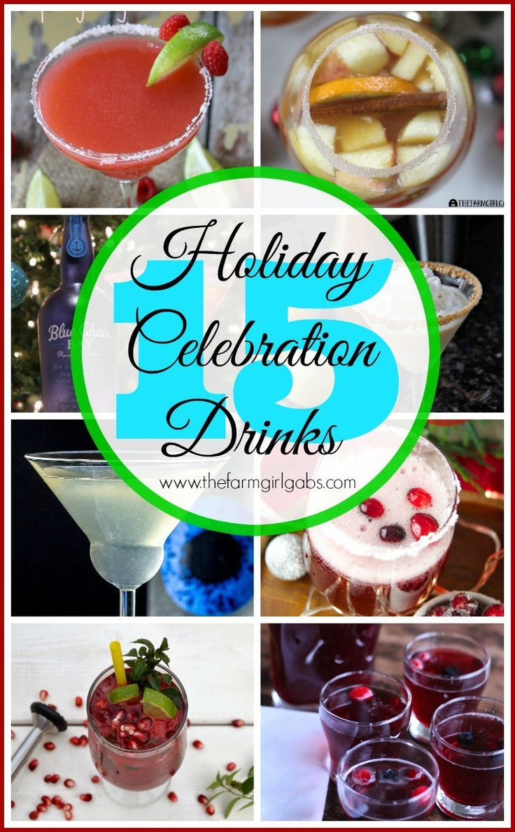 15+ Celebration Drinks – Cocktail and Drink Recipes. You know you need a drink. …