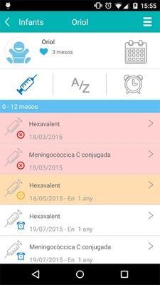 iVacunes, una aplicación móvil para seguir y cumplir el calendario vacunal de los niños. www.farmaciafrancesa.com