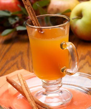 Spicy Mulled Cider - Halloween Cocktails