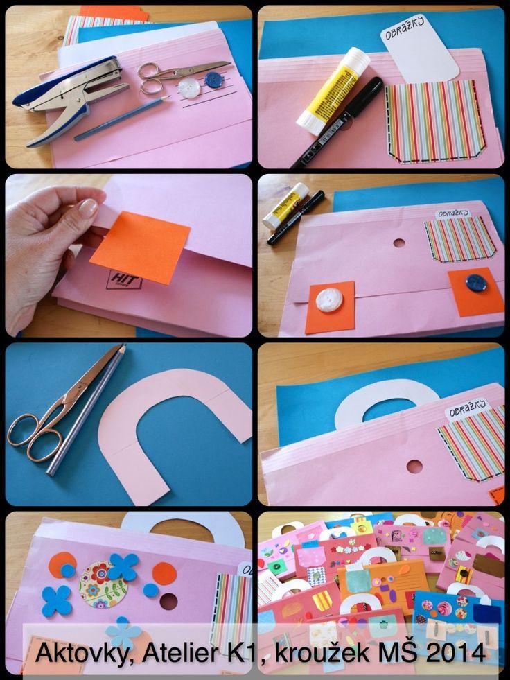 Letošní výtvarný kroužek v MŠ Matěchova jsme zahájili výrobou papírových aktovek na naše výtvory. Jsou z barevných papírových složek a dopadly skvěle.…