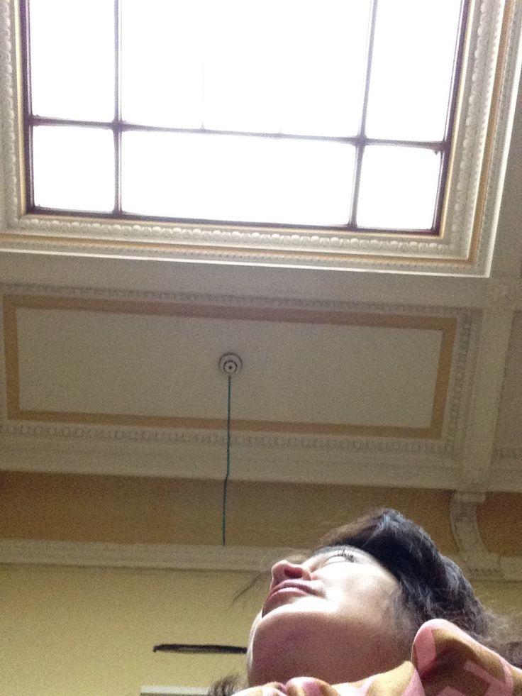 Стеклянный потолок в усадьбе графини Уваровой